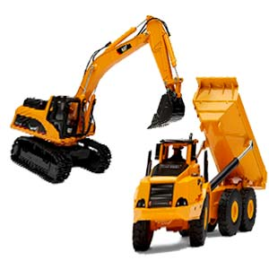 Escavatori giocattolo