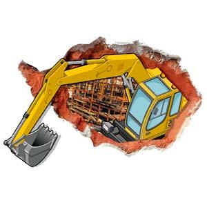 Adesivi per escavatori